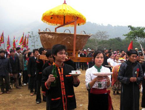 Các ngày Tết quen thuộc của người Thái Nghệ An