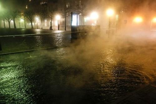 Lũ nước sôi xuất hiện tại Thụy Điển
