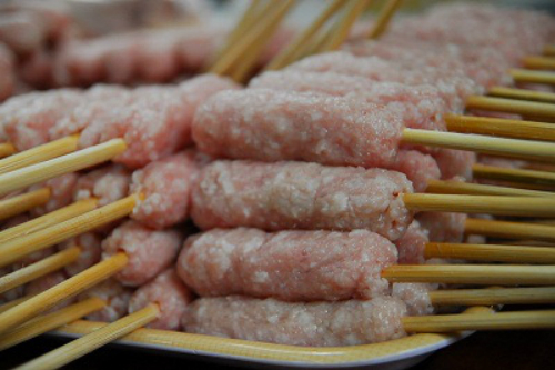 Nem nướng - món ngon đến từ Nha Trang