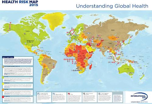 Những quốc gia không được phép ốm khi đến thăm