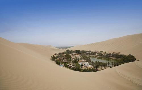 Phép lạ giữa sa mạc Peru