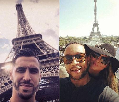 Tháp Eiffel - nơi du khách 'selfie' nhiều nhất thế giới