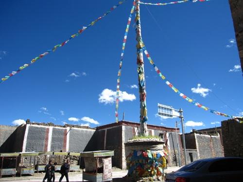 Tu viện Sakya nguy nga của Tây Tạng