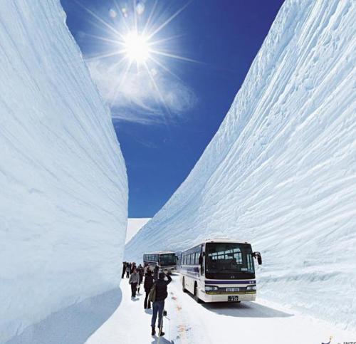 Cung đường tuyết trắng ở xứ Phù Tang