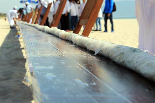 Đà Nẵng có 'gỏi cuốn dài nhất thế giới'