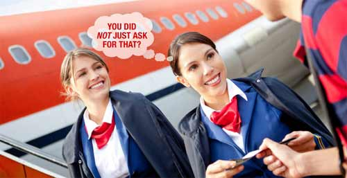 Tiếp viên hàng không và các đòi hỏi khó chiều của hành khách