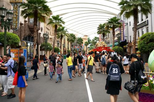Thế giới Kungfu Panda và Transformer ở Singapore