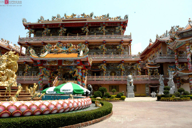 Tôn Ngộ Không trong ngôi đền ở Thái Lan