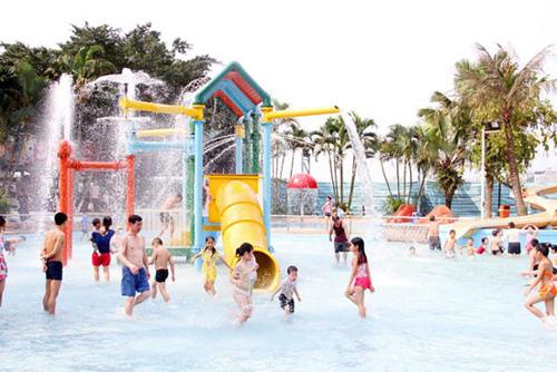 Các công viên nước giải nhiệt mùa hè