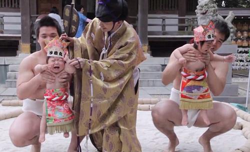 Cuộc thi dọa trẻ con khóc ở Nhật Bản