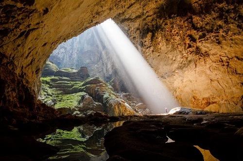 Sơn Đoòng, nơi ánh sáng đi qua những 'tấm lọc'