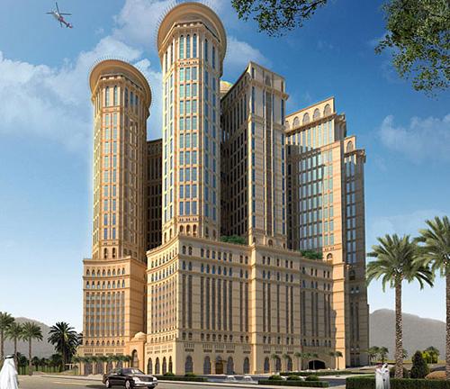 Khách sạn lớn nhất thế giới sẽ được xây gần thánh địa Mecca