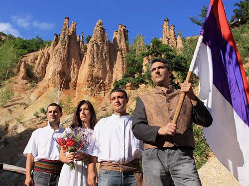 Thị trấn của quỷ dữ ở Serbia