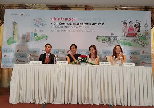 Ba kiều nữ Việt làm truyền hình thực tế ở Hàn Quốc