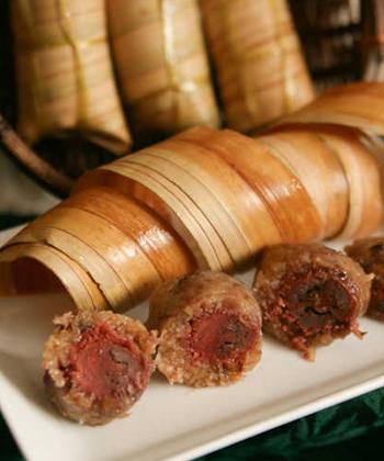 Bánh lá dừa, món quà quê miền Tây