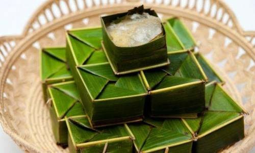 Bánh phu thê gói lá dừa xứ Huế