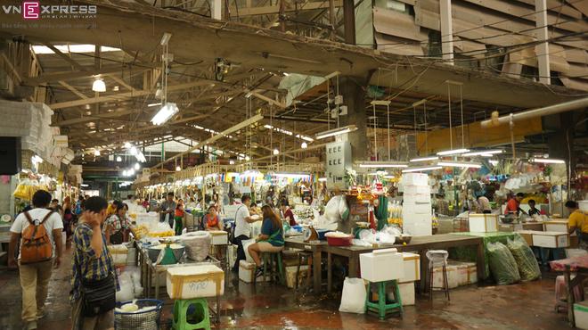 Chợ hoa lớn nhất thủ đô Bangkok
