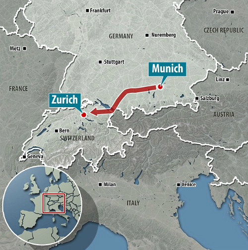 Chuyện hy hữu: Du khách dự tiệc ở Đức, tỉnh dậy ở Thụy Sĩ