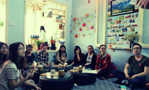 Quán cà phê cho dân phượt bốn phương ở Hà Nội