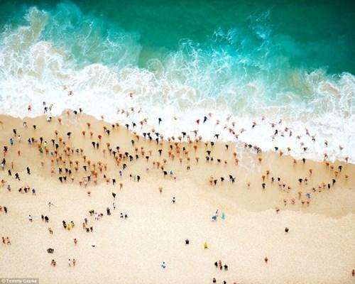 Choáng ngợp trước vẻ đẹp của những bãi biển nhìn từ trên không