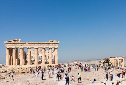 Du khách đổ về Hy Lạp nhiều hơn bất chấp khủng hoảng