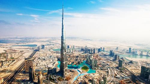 Hai biểu tượng xa hoa ở Dubai