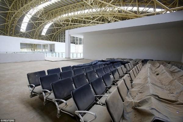 Bên trong 'sân bay ma' 375 tỷ đồng của Ấn Độ