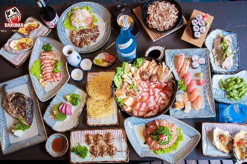 Daruma - quán ăn Nhật tại TP HCM