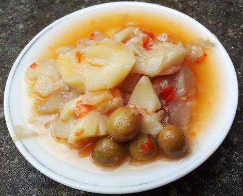 Măng ớt Đồng Mỏ - món đặc biệt trong mâm cơm xứ Lạng