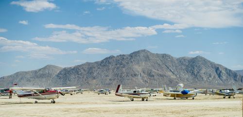 Sân bay chỉ được dùng một tuần mỗi năm
