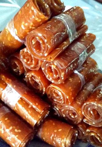 Bánh tráng xoài - đặc sản Cam Ranh