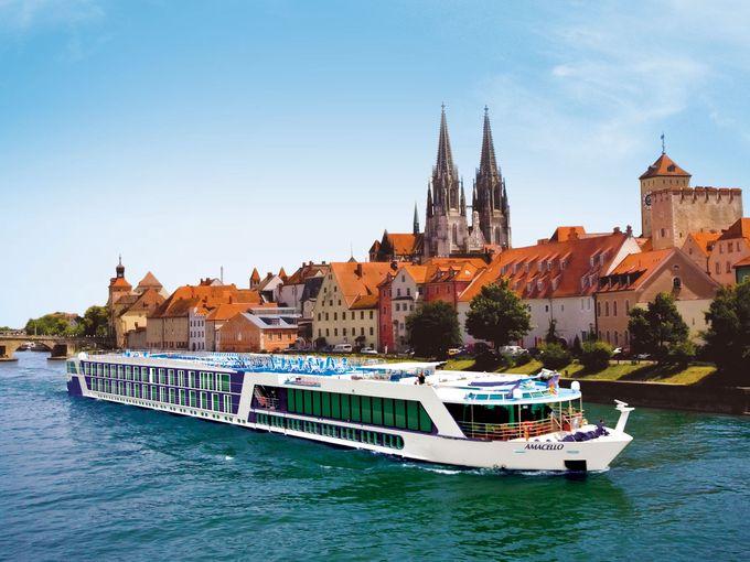Dạo quanh châu Âu trên những chiếc du thuyền
