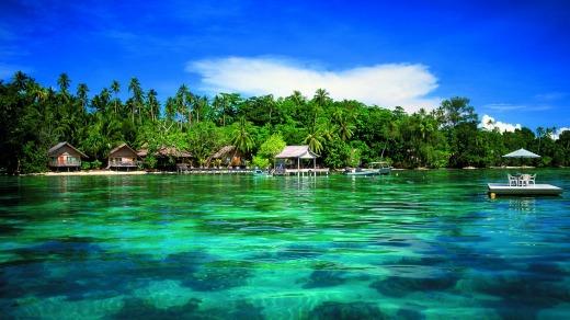 Đảo Solomon, thiên đường hạ giới