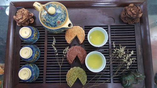 Hương vị riêng của bánh Trung thu handmade