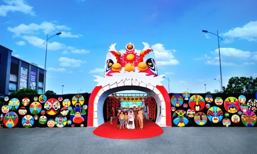 Lễ hội Trung thu đầy màu sắc tại Vinhomes Riverside
