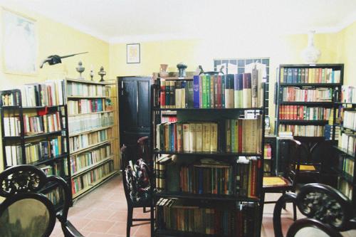 Quán cà phê sách cho cuối tuần ở Hà Nội