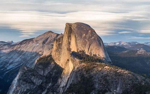 Vợ chồng hóa đá vì cãi nhau trong truyền thuyết ở Yosemite