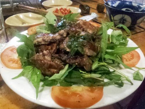 Đặc sản chuột đồng nướng muối ớt miền Tây