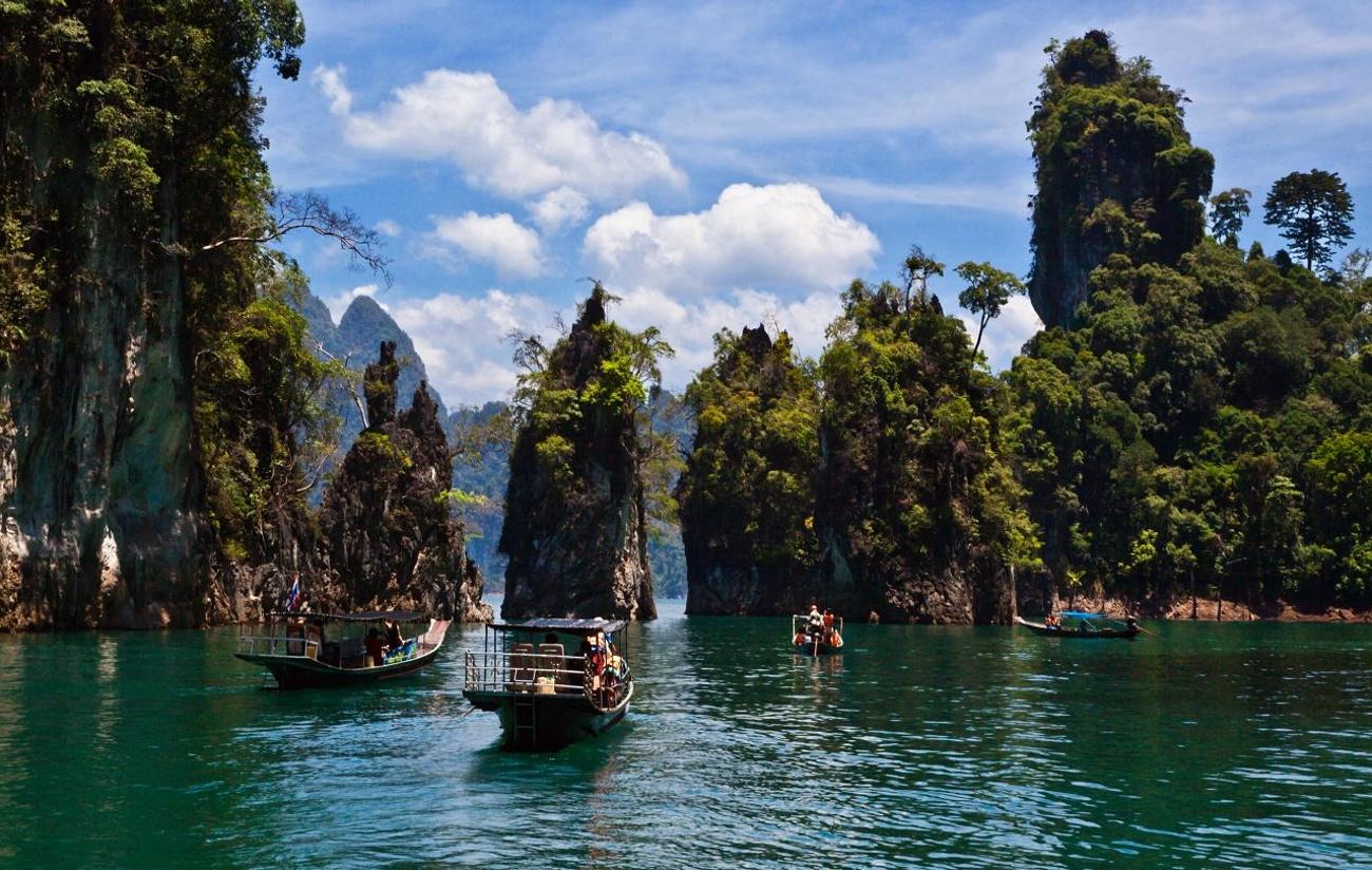 Đường đến những 'thiên đường hạ giới' mới lạ ở Thái Lan