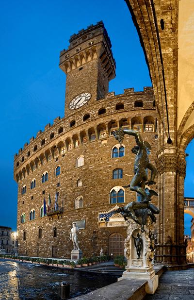 Không gian lãng mạn ở Florence