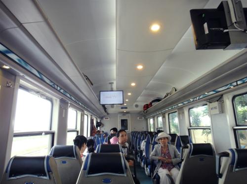 Sẽ có tour du lịch tàu hỏa qua duyên hải miền Trung