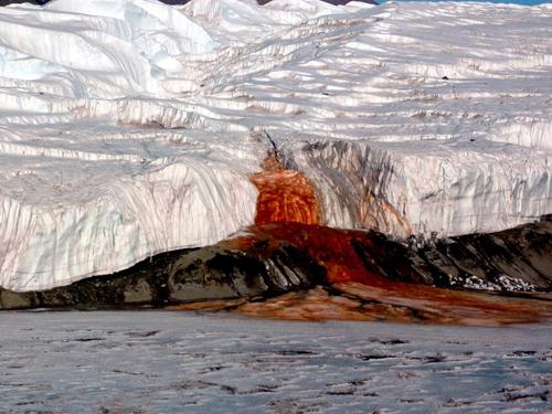 Dòng sông 'khóc ra máu' ở Nam Cực