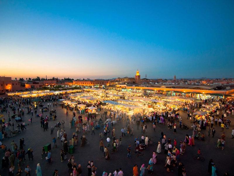 Marrakesh, Ma-rốc, đứng đầu top điểm đến phổ biến nhất trên thế giới