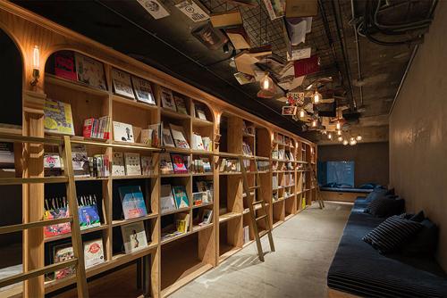 Nhà nghỉ tràn ngập sách và nệm êm cho người mê đọc