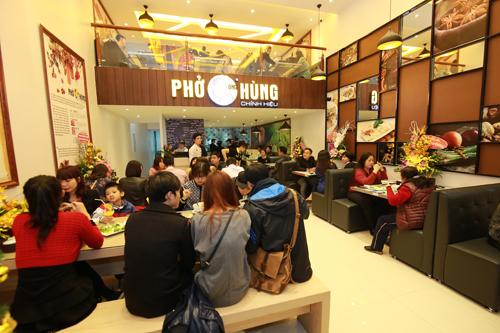 Phở Ông Hùng có mặt tại Hà Nội