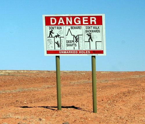 Thị trấn không cẩn thận là ngã xuống 'mỏ vàng'