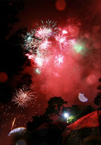 30 điểm xem bắn pháo hoa Tết ở Hà Nội