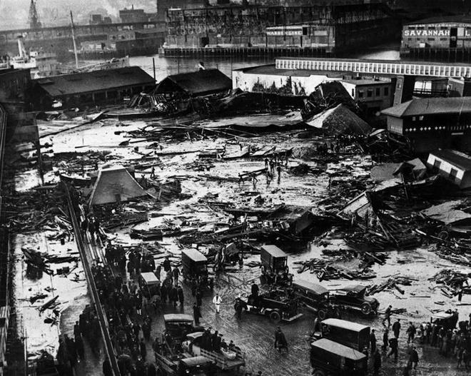Boston hoang tàn của 97 năm về trước