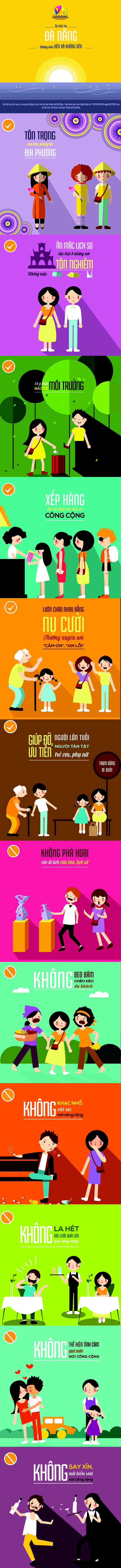 Đà Nẵng ban hành Bộ quy tắc ứng xử về du lịch bằng hình ảnh