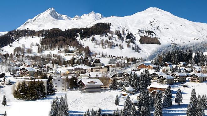 Khách sạn dành cho giới nhà giàu quyền lực ở Davos